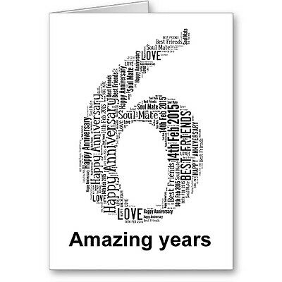 Personalised Printed Typographic Tenth// 10th Birthday Card// Gift Male//Female