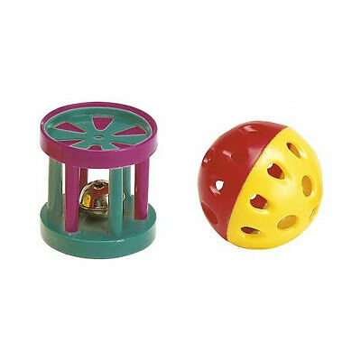 Ferplast Pa 5202 Ball/cylinder Cat Toy Mixed Colours