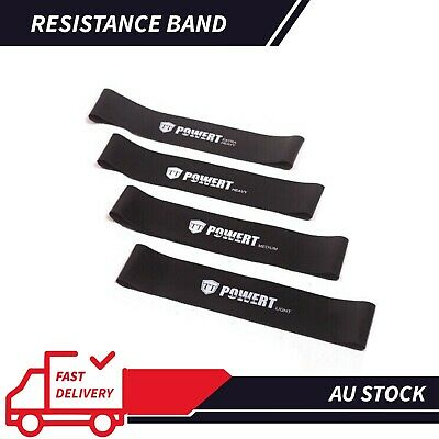 AU Gym Power RESISTANCE BAND LOOP Exercise Yoga Plates Fitness Training Workout