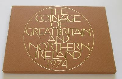 Royal Mint BUNC Coin Set 1974 - Nice collectable 6 coin Set in good condition