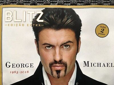 GEORGE MICHAEL Special Edition Collectors magazine 32 pag. TRIBUTE 2016 Portugal