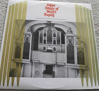 organ music of bach's pupils, krumbach on organ in lahm, oryx lp