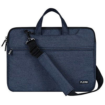 Plemo Laptop Shoulder Bag Sleeve Briefcase Carrying Case for 13 - 13.3 Inch Lapt