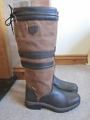 Ariat Braemar Country / Riding Boots -UK 4.5 (Samples / Seconds? -Narrow) -Ebony