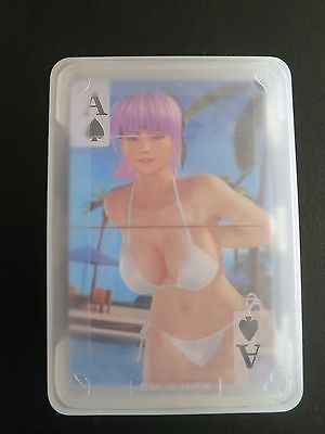 Dead or Alive DOA Xtreme 3 PS4 Fortune Unopened Playing Card Deck