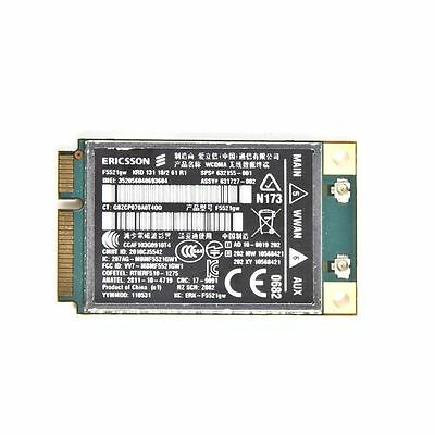 Ericsson F5521GW HP HS2340 HSPA 21Mbs 632155 3G Wireless WWAN Card Mini PCI-e