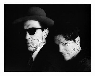 """Ron Russell Mael Sparks Pre Printed Autographed 10"""" x 8"""" Photo Print"""