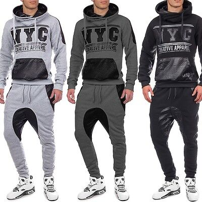 Unisex chándal jogging tracksuit deportivo con capucha de New York
