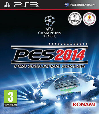 Pes 2014: Pro Evolution Soccer 2014 PS3 *Like Brand New in Condition*