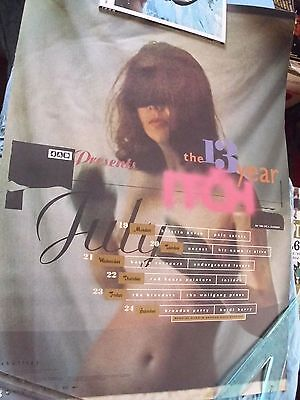 The 13 Year Itch - 1993 ICA 4AD Festival UK 4AD Promo Poster Red House Painters