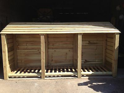 Log Store Extra Large Heavy Duty Pressure Treated