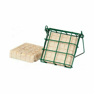 C J Wildbird Foods Cj Peanut Cake Feeder Mesh Green