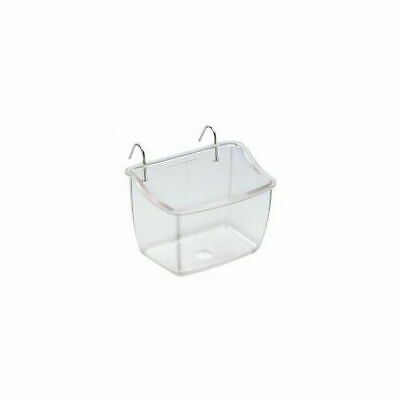 Ferplast Fpi 4512 Feeding Dish Clear 9.5x7.6x6.7cm