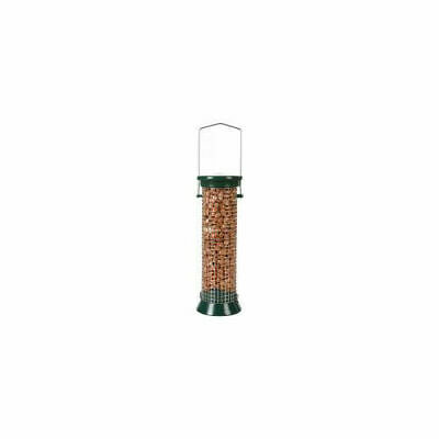 C J Wildbird Foods Cj Defender Metal Peanut Feeder Green 6 Port Small 20cm