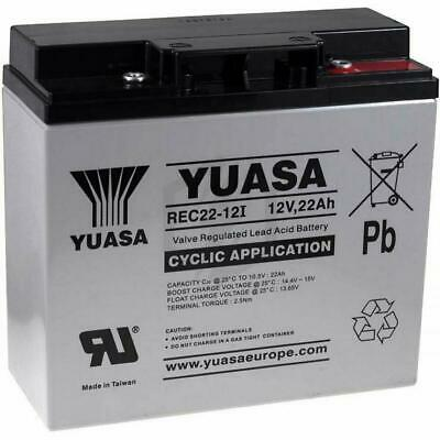 Yuasa 22Ah Golf Trolley Battery & Battery Bag - 1 Yr Wnty