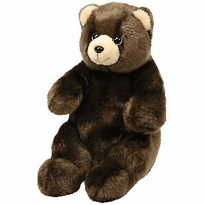 Ty Wild Wild Best Kodiak Brown Bear 10 inch sitting New with tag Retired