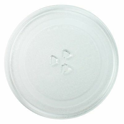 Sanyo Microwave Glass Turntable Plate 245mm with 3 pips/projections