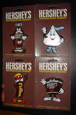Hershey's & Reese's Chocolate Magnet- Lot Of 4 Pc. - 100% Authentic - New !