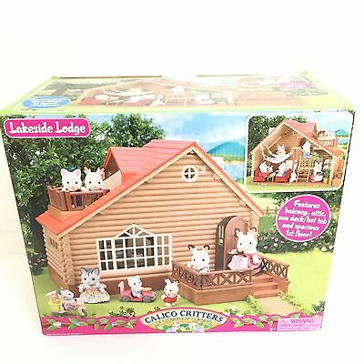 EPOCH Sylvanian Families (Calico Critters US) Log Cabin New in Box