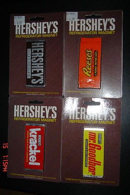 Hershey's / Reese's / Magnet Lot Of 4 Pc. -- Rare 100% Authentic - New !