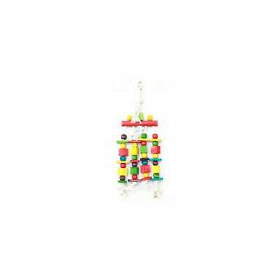 Happy Pet Products Parrot Toy Blocks N Beads