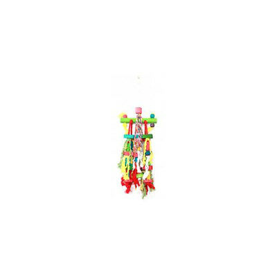 Happy Pet Products Parrot Toy Mishmash