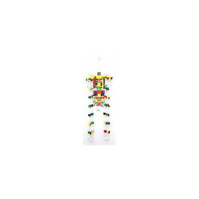 Happy Pet Products Parrot Toy Wood N Tumble