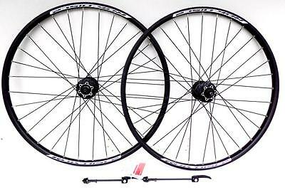 "26"" RDK Wheels DISC2 Rims Shimano Deore Hubs Wheelset MTB Mountain Bike QR's"