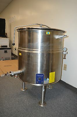 Cleveland KEL-40 40 Gallon Capacity Electric Tilting Steam Kettle