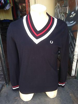 Vintage Fred Perry Medium Nod Style Jumper