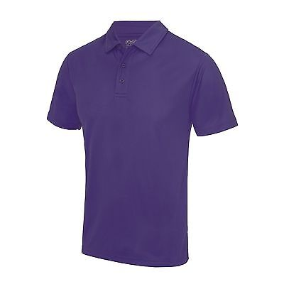 AWDIS Cool Men's Top Medium Polo Shirt T-shirt Breathable Running sports JC040