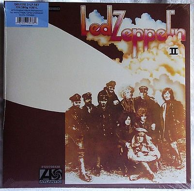 LED ZEPPELIN II DELUXE EDITION 2LP 180g SEALED
