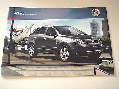 Vauxhall . Antara . 2010 Models . Edition 1 . Sales Brochure