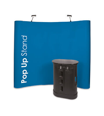 3X4 exhibition banner display stall shop retail design photography pop up stand
