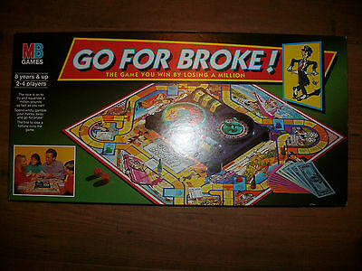 Go For Broke Game Spare Pieces Parts Money etc Choose from List MB 1993 Edition