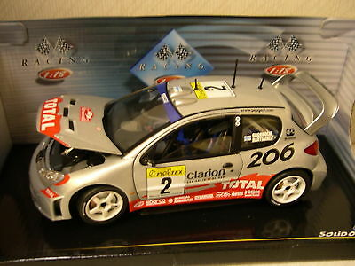 Solido: Peugeot 206 WRC #2 Gronholm/ Rautiainen Monte Carlo 2002 Rally
