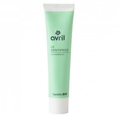 Dentifrice BIO AVRIL à la menthe 75 ml naturel fraicheur intense 100% naturel
