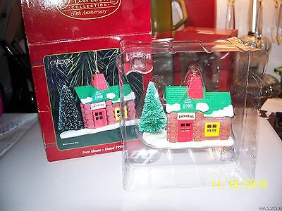 1998 Lincoln Logs Cabin  Carlton Cards Ornament