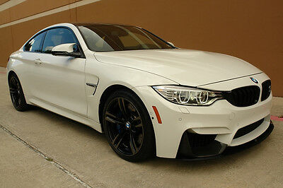 2015 Bmw M4 Coupe 6-Speed Manual 3.0L Gasoline 2015 Bmw M4 Coupe 6-Speed Manual 3.0L Nav Cam Head-Up Disply Carbon Fiber 1Owner