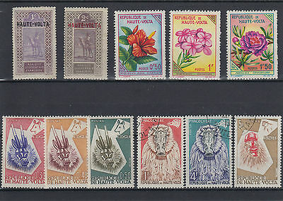 Upper Volta 1920-1963 Selection Mint & Used Hinged (#1249)