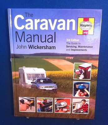 Haynes Caravan Manual By John Wickersham Excellent Condition