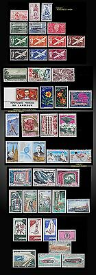1941 To 1969 Lot French Camerun Cameroon And Independent Mint Airmails Lh