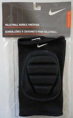 Nike Adult Unisex Multi-Sport Bubble Fit Skinny Knee Pads 1 Pair S/M Black New