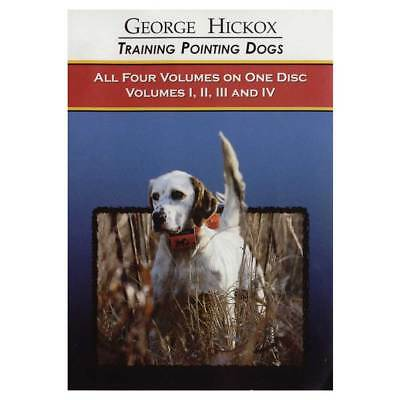 D.T. Systems Pointing Dog DVD Collection Vols. 1-4 D050