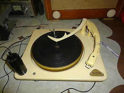 Collaro C 60 Record  Player Changer  4 Speed Automatic / Sparton  Electronics