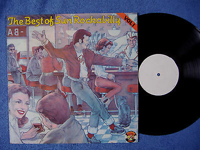 Best Of Sun Rockabilly Vol 1 ~ White Label Test Pressing ~ Charly Lp