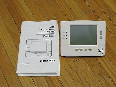 Ademco 6270 Touch Screen Security Keypad (Brand new)