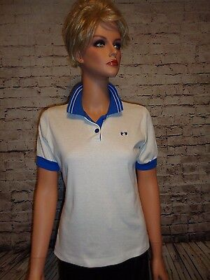 Vintage 70's Hang Ten Polo Shirt Size S/M Surfer GUC