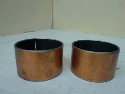 """Lot Of 3 Oiles 70B-6040 Bearing Sleeves, 2-3/8"""" Id X 2-9/16"""" Od X 0.1"""" Thickness"""