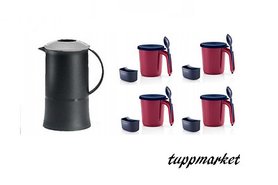 TUPPERWARE Thermotup Pitcher Jug 600ml SET Special offer New Colors